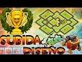 Ayuntamiento 9 subida de copas + CONTROLADOR AEREO | DISEÑOS DE ALDEAS #7 | Juagando Clash of Clans