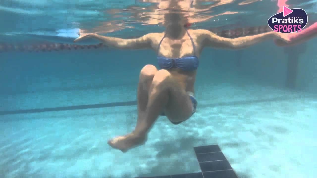 Aquagym Comment Faire Des Abdominaux Dans L Eau Natation Youtube
