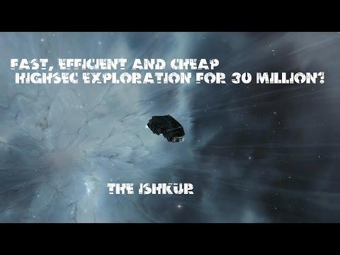 "Eve Online - Ishkur ""Sir Lancelot"" Exploration"