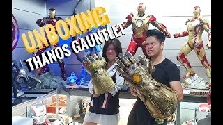Unboxing Thanos Gauntlet (Infinity Gauntlet) Avengers End Game