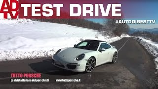Porsche 911 Carrera 4: sound & test on track and road