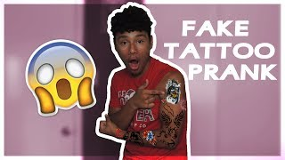 Tatto Prank On My Mom! (At Age 15) *GONE VIOLENT*