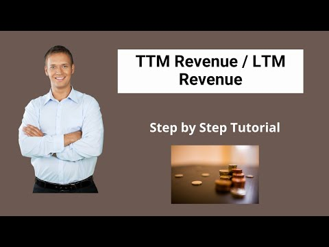 TTM Revenue / LTM Revenues | Uses | Calculation (with Examples)