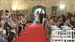 """""""mariage"""" """"surprise"""" Valy et Seb - Entrée à l'église """"cérémonie"""" """"originale"""""""