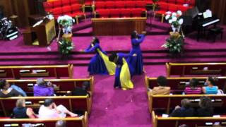 """Press in Your Presence"" Praise Dance by Anointed Dancers EBC (at ADEBCPB15: We Are Victorious)"