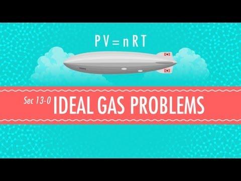 Ideal Gas Problems: Crash Course Chemistry #13