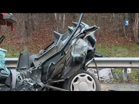 Une voiture écrasée entre deux camions : 2 morts dans un terrible accident sur la rocade à Toulouse