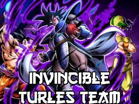 Invincible Turles Team! | Dragon Ball Legends PvP