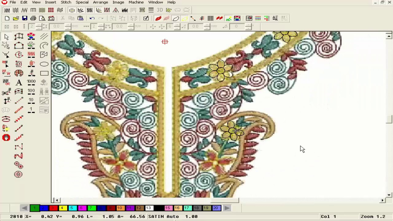 machine embroidery designs software