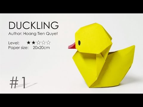 Origami Duckling-Hoàng Tiến Quyết