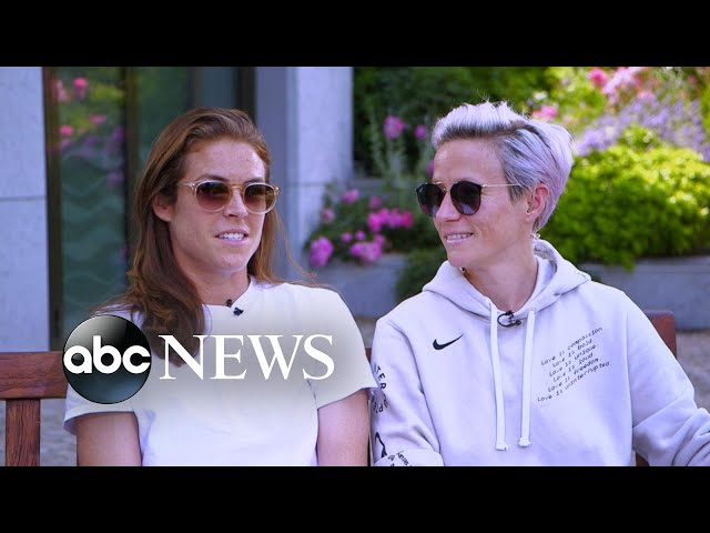US soccer star Megan Rapinoe on staying focused for semifinal