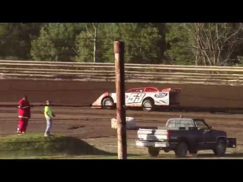 Hummingbird Speedway (7-7-18): BWP Bats Late Model Heat Race #1