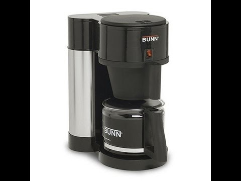 Bunn Professional Home Brewer Review - YouTube