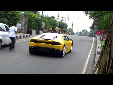 Newly Delivered Lamborghini Huracan Says 'Hi' to Jubilee Hills - India (Hyderabad)