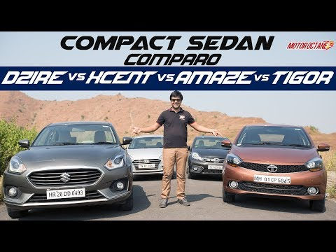 Maruti Suzuki Dzire Vs Tata Tigor Vs Hyundai Xcent Vs Honda Amaze | Detailed Comparison