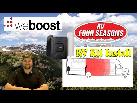 WeBoost Drive 4G X RV Kit