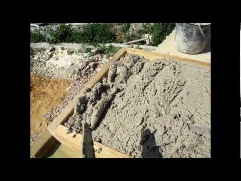 Making Coping And Paving Stones Youtube