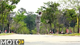 Soldier Salute by Peter Rowe
