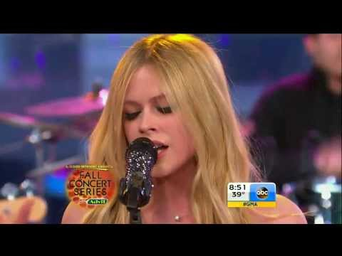 Avril Lavigne - Let Me Go @ Good Morning America (5/11)