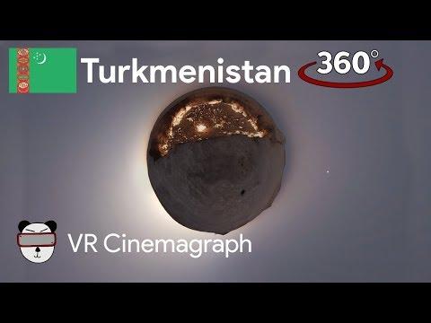 📽360° Cinemagraphs: Doorway To Hell | Darvaza, Turkmenistan 🇹🇲