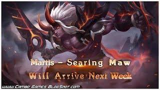 Mobile Legends Bang Bang 5v5! New Skin - SEARING MAW (Martis) Gameplay Android/iOS