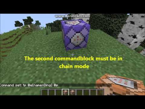 Minecraft Command Tricks How To Teleport Mobs To The Player V - Minecraft teleport player to