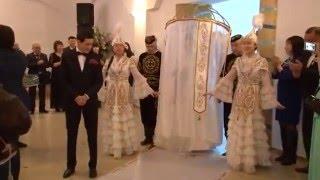 выход невесты на свадьбе шанырак на вывод невесты под шаныраком павлодар жар жар