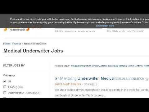 Medical Underwriter Job Description - YouTube