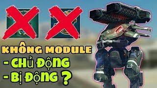 Thử Thách KHÔNG Module Chủ & Bị Động Vẫn Auto WIN - War Robots Việt Nam Gameplay