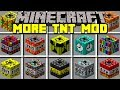 Minecraft MORE TNT MOD / 200+ NEW TNT, NUKES, DYNAMITES & MORE! / Modded Mini-Game