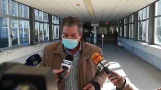 Blitz del commissario ad acta Angelo Giustini all'ospedale Cardarelli