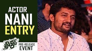 Actor Nani Entry @ Ninnu Kori Movie Pre-Release Event | TFPC