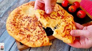 ЛЕНИВЫЙ ХАЧАПУРИ на сковородке за 15 минут Simple recipe of KHACHAPURI