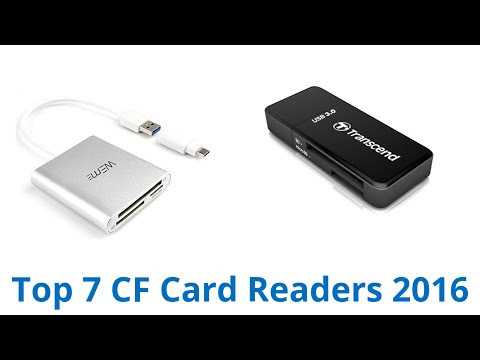 7 Best CF Card Readers 2016