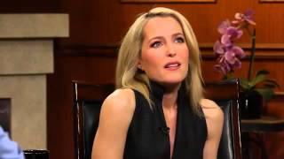 Джиллиан Андерсон|Gillian Anderson отвечает на вопросы Ларри Кинга (РУССКИЕ СУБТИТРЫ)