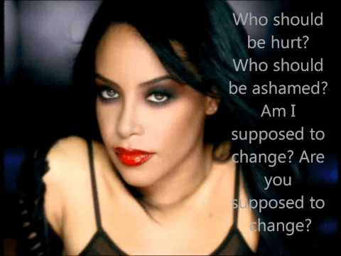 Aaliyah We need a resolution lyrics