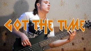 Joe Jackson / Anthrax Got the Time bass cover was one of my the mos...
