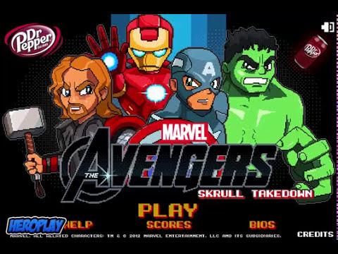 Avengers: Skrull Takedown Gameplay