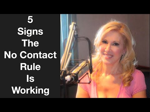 5 Signs The No Contact Rule Is Working