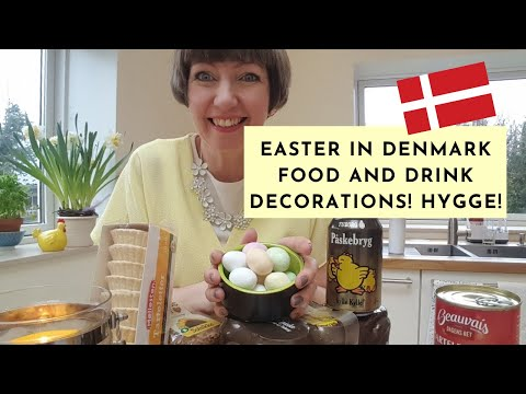Easter in Denmark! (food and drink, decorations, how we celebrate)