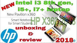 Hp Pavilion x360 14-CD0077TU/CD0050TX/0053TX/0080TU Unboxing & review 2018.