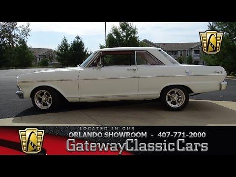 #7068 1965 Chevrolet Nova - Gateway Classic Cars of St. Louis