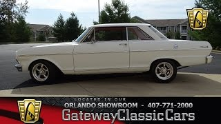 #7068 1965 Chevrolet Nova - Gateway Classic Cars of St. Louis