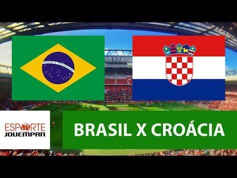 Brasil 2 X 0 Croácia - 03/06/18 - Amistoso Internacional