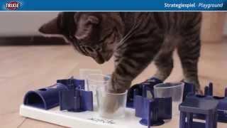 TRIXIE Cat Activity Playground Развивающая игрушка для кошек