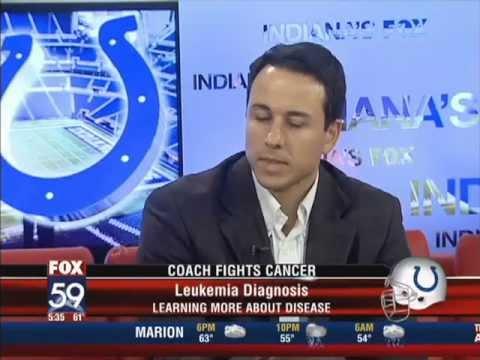 FOX59 - Coach Fights Cancer