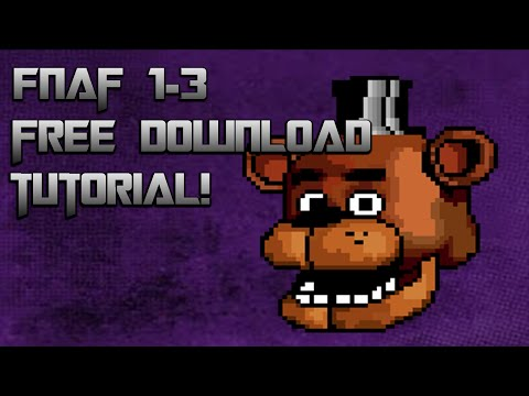 FNAF 1-3 Free download! (PC Working!)