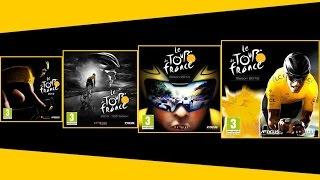 Rétrospective des jeux Tour de France 2012, 2013, 2014 et 2015 [FR]