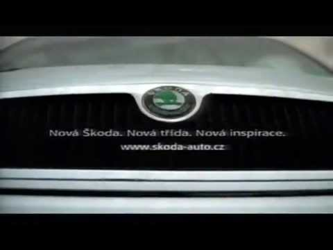 Czech advertising SKODA FABIA