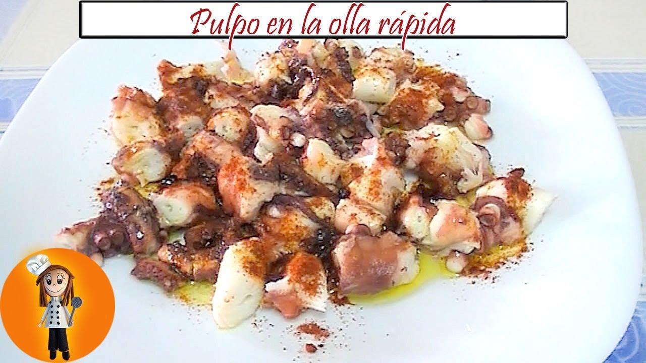 pulpo en la olla r pida receta de cocina en familia ForPulpo En Olla Rapida